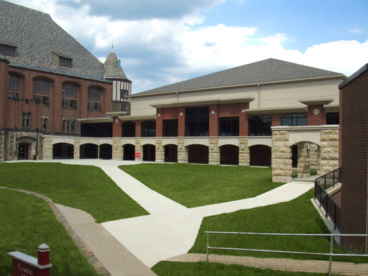 Seton Hill University Center Designstream Architectural Studio